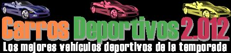 Carros deportivos 2.012