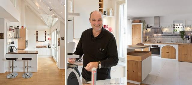 Küchenrenovierung und Küchenmodernisierung Harald Maier - Küche erneuern, Küchenschranktüren austauschen, Arbeitsplatte erneuet - oder doch eine neue Küche?