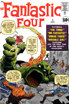 Fantastic Four #1, Jack Kirby, cover