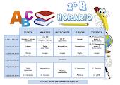 HORARIO ( CURSO 2015 - 2016)
