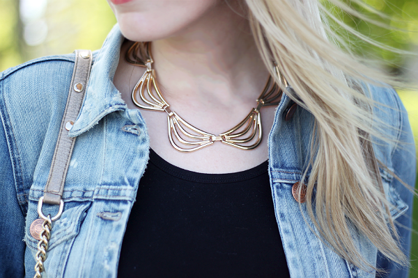 Forever21 Gold Necklace