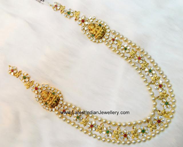 Pearls Flat Diamonds Haram