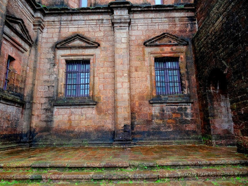 Basilica of Bom Jesus - UNESCO World heritage site - Goa India