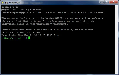 Raspberry Pi SSH connection