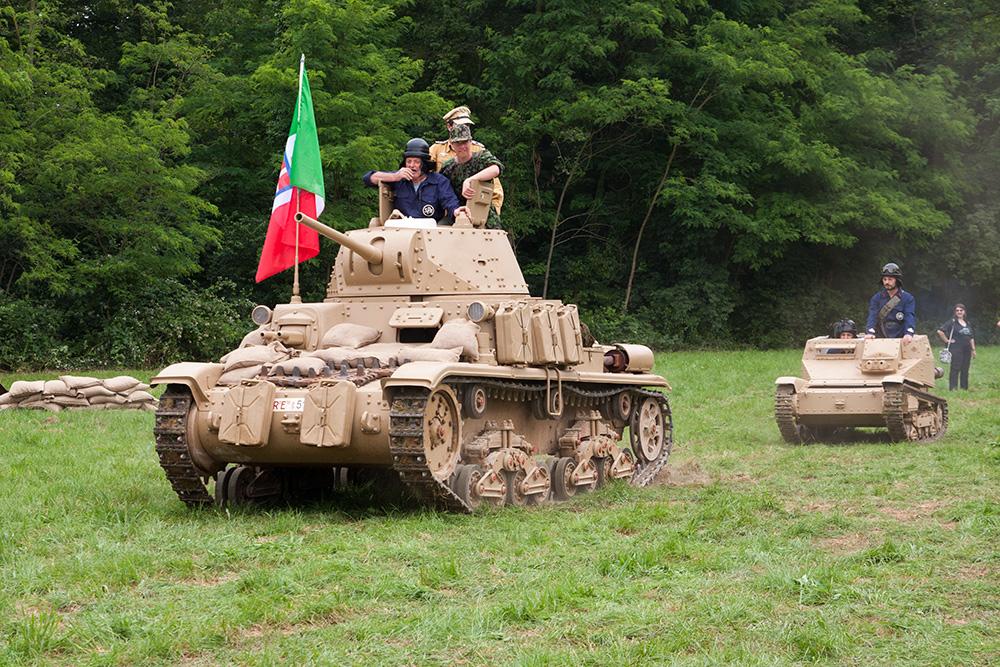 carro medio italiano ternavasso M13/40