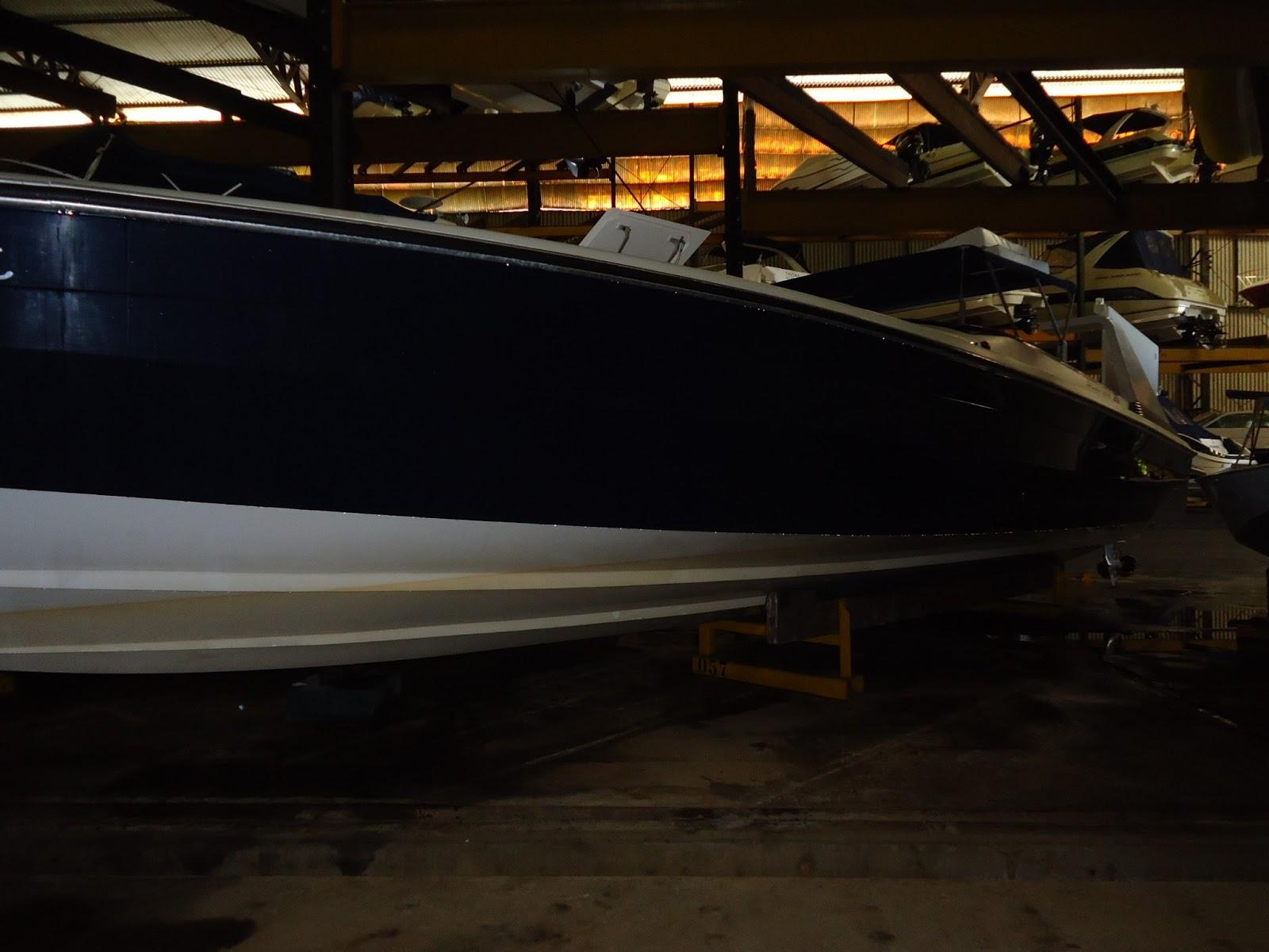 Intermarine Sacarab 38 pés, Ano 94