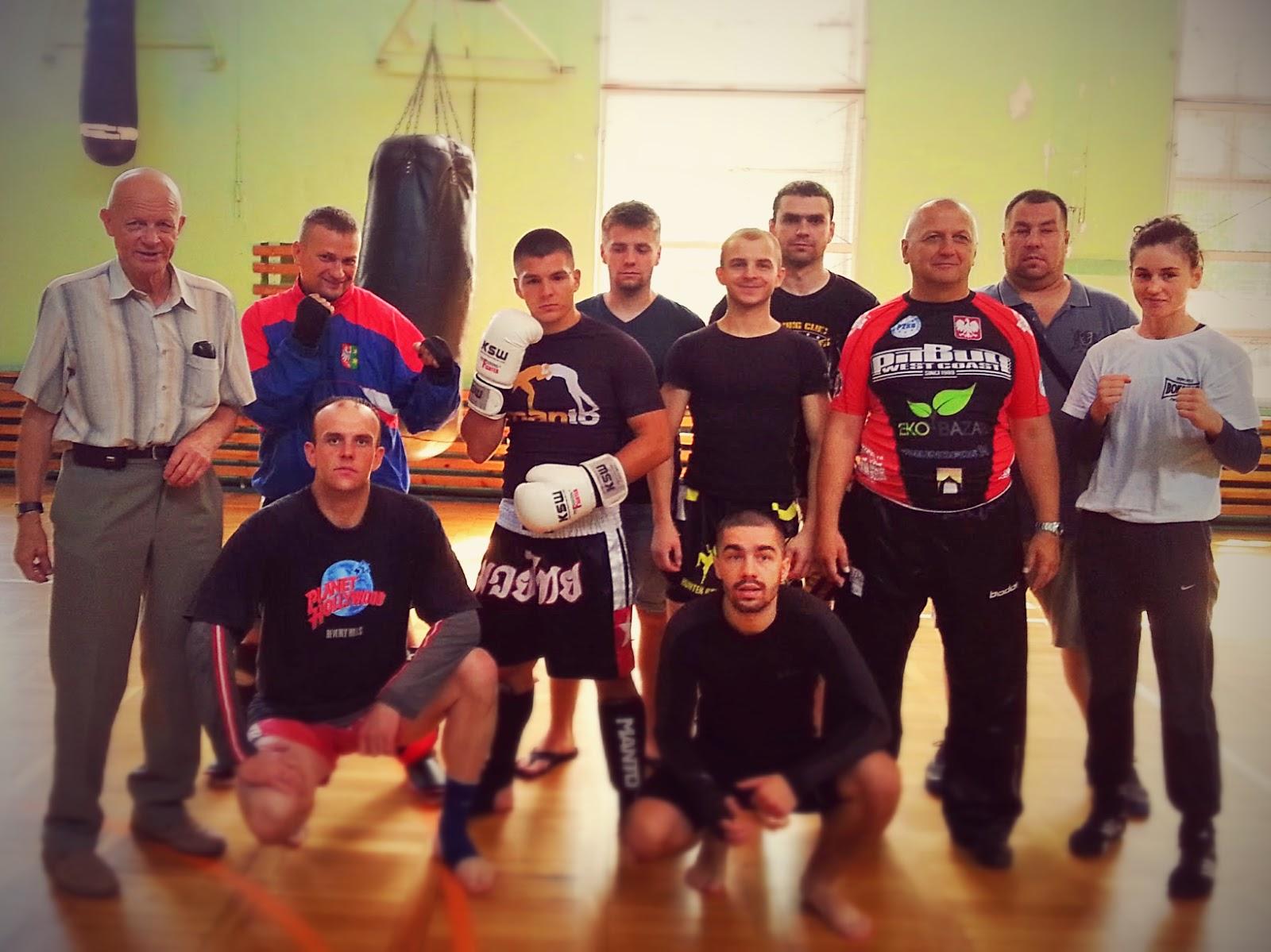 adepci, instruktor, kickboxing, Kinga Szlachcic, kurs, sport, sporty walki, treningi, Zielona Góra