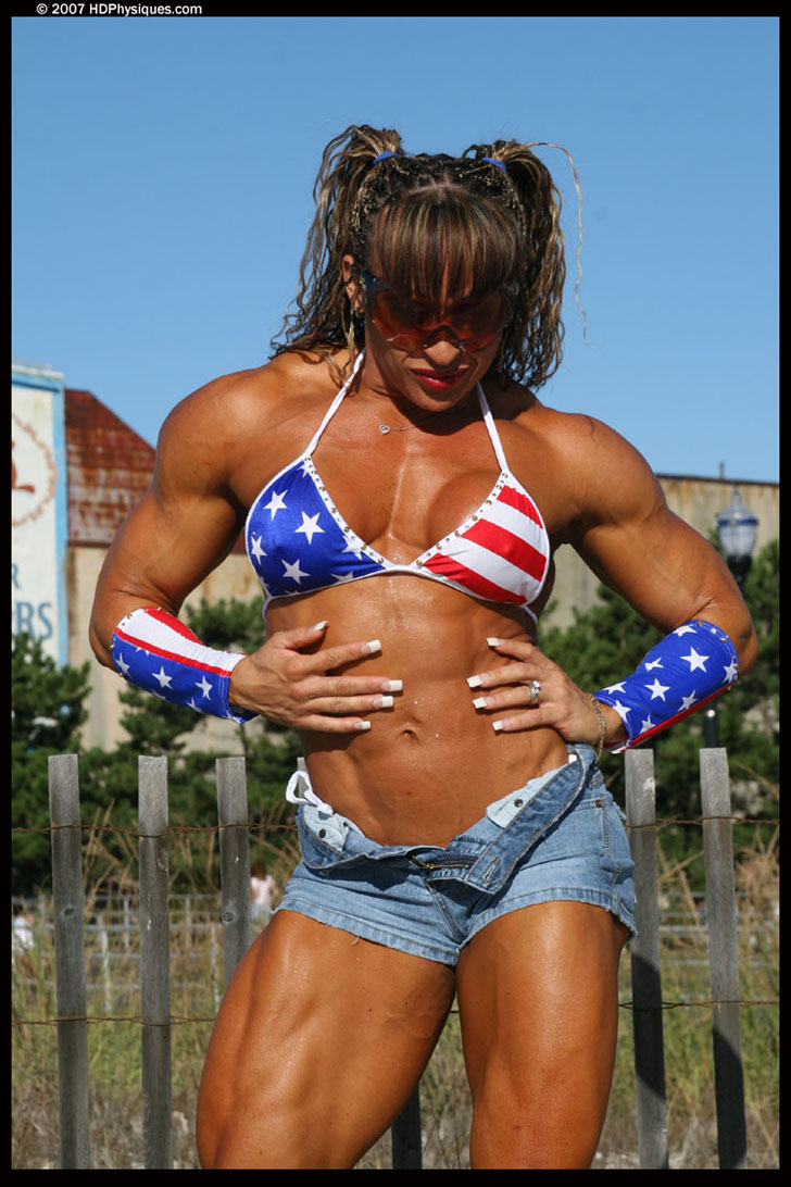 Betty Viana - Adkins Hot Muscles And Great Abs
