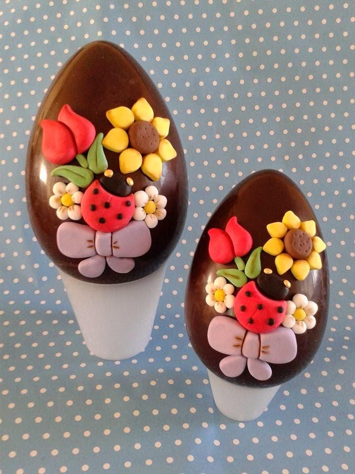 Zuccherosamente uova di pasqua decorate stile thun - Uova di pasqua decorate ...