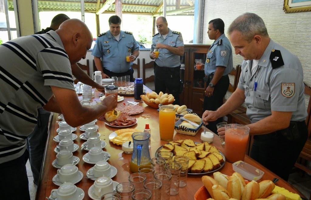 Imprensa local é recebida para um café da manhã no 30º BPM