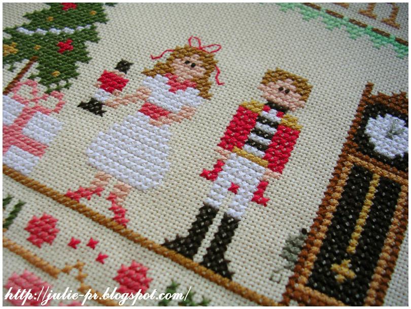 Nutcracker CCN Щелкунчик вышивка cross stitch