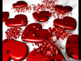 Bunch Of Red Hearts