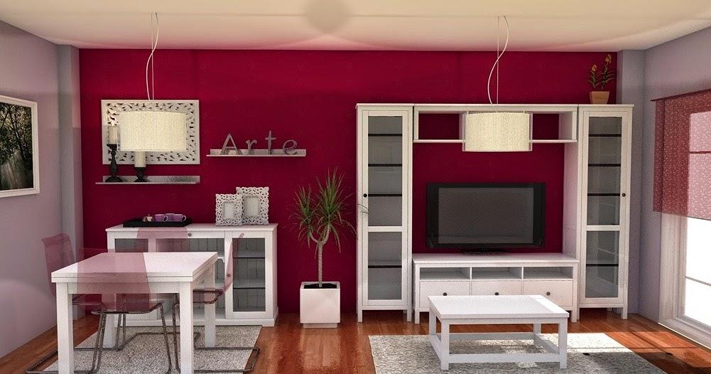 Arantxa amor decoraci n un sal n comedor peque o y acogedor - Colores para salones pequenos ...