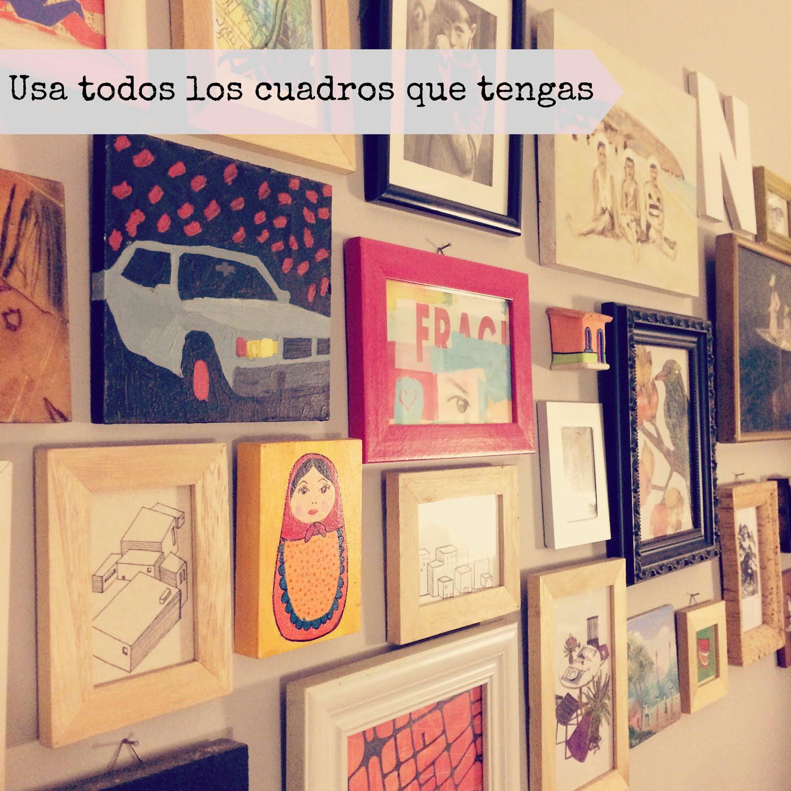 Convierte tu casa en una galería de arte - HOLA LUPi