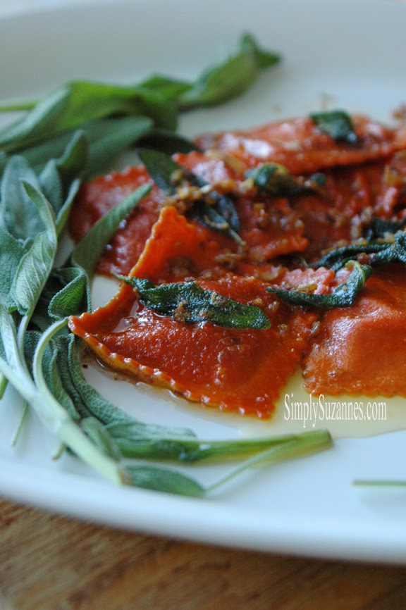 Simply Suzanne's Pumpkin Ravioli- Treasure Hunt Thursday- From My Front Porch To Yours