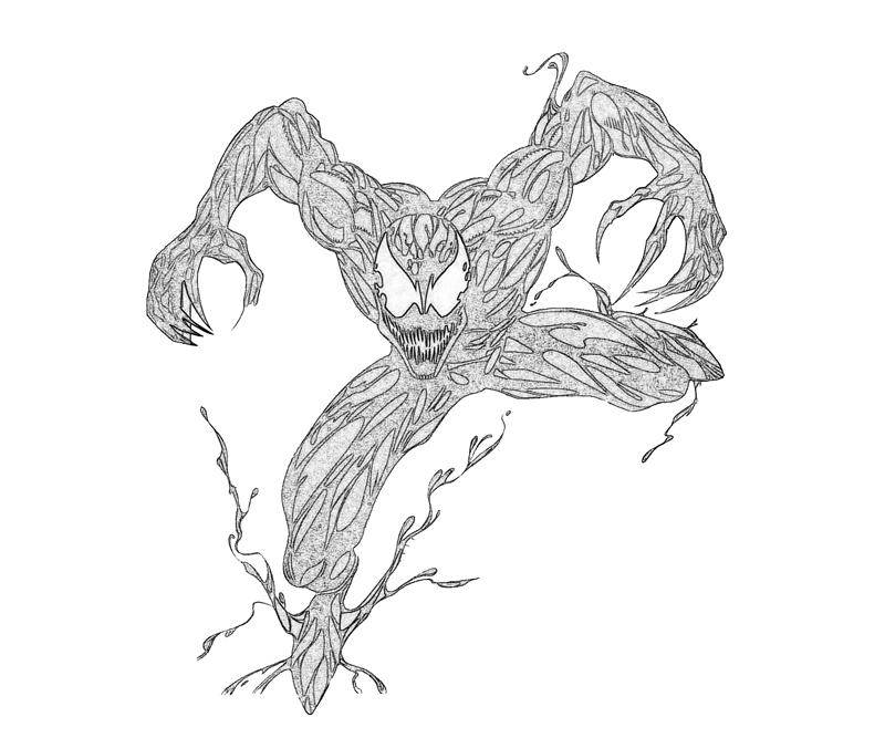 spiderman carnage coloring pages - photo#3