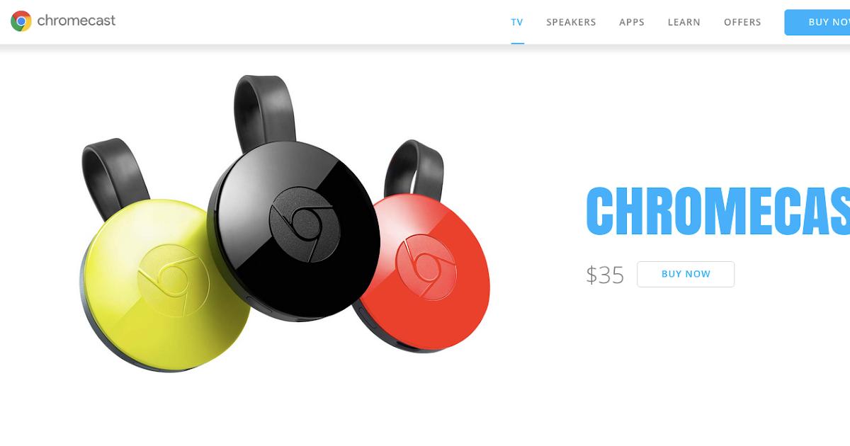Chromecast 2.0 登場! App 更新支援 Facebook 投影