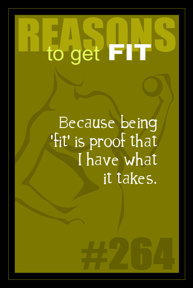 365 Reasons to Get Fit #264