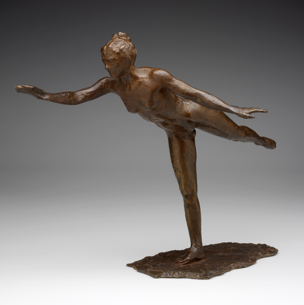 Edgar  Degas  Grande  Arabesque C  Second  Time