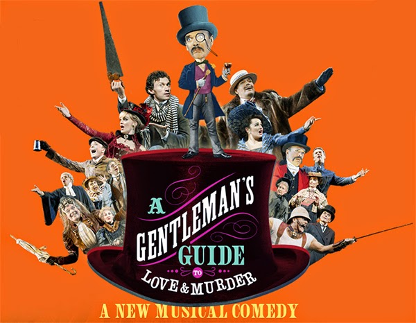 A Gentleman's Guide to Love and Murder musical poster