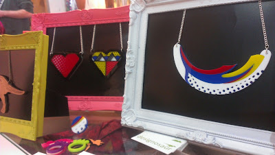 designosaur necklaces pop art