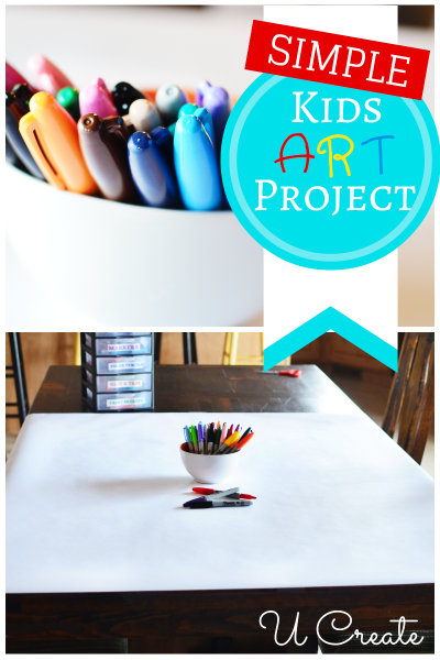 U Create | Simple Kids Art Projects