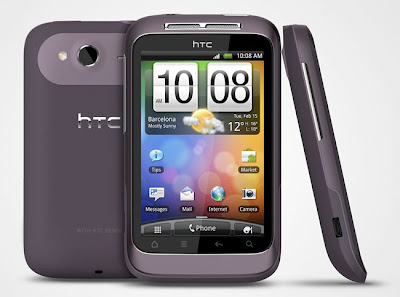 new HTC Wildfire S Mobile Phone