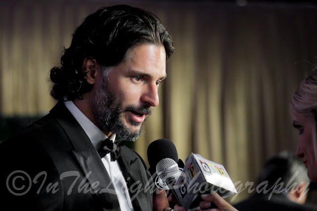 Celebrity Fight Night 2013 Red Carpet Joe Manganiello