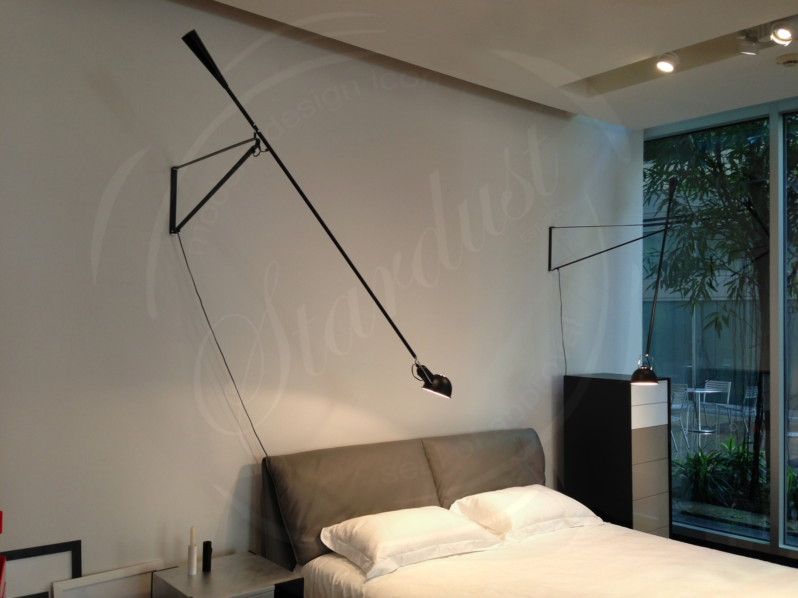 265 wall lamp from flos flos 265 lamp. Black Bedroom Furniture Sets. Home Design Ideas