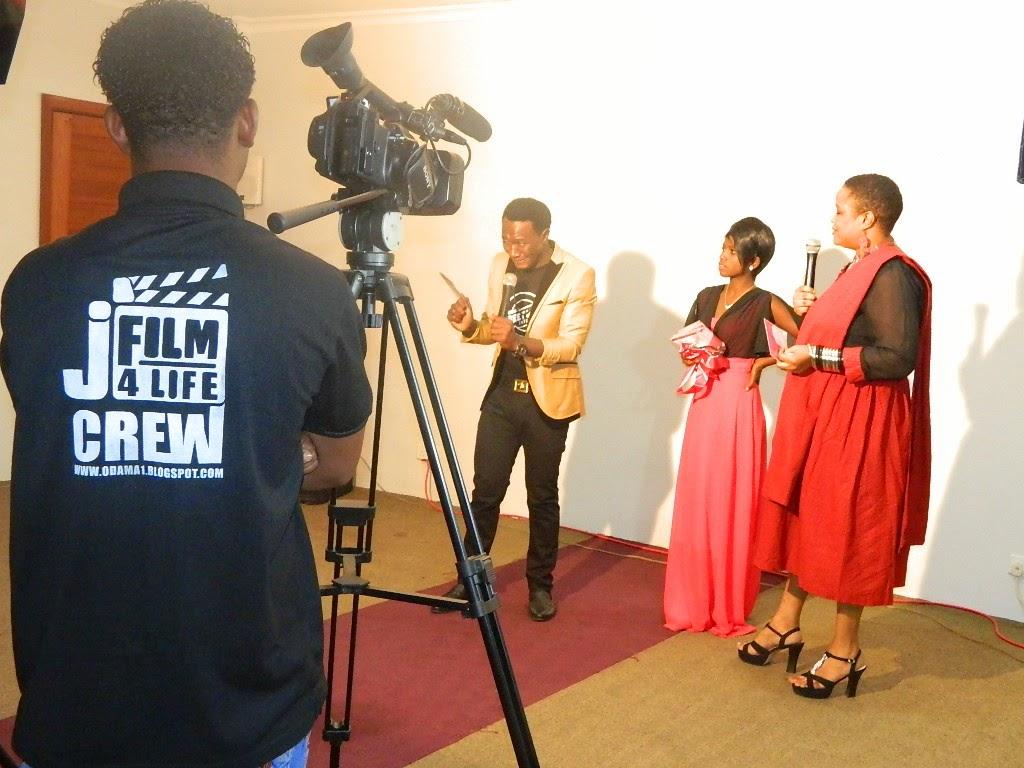 J-FILM 4 LIFE YAFANYA SHOOTING KATIKA TAMASHA LA EVELYN KABWELILE