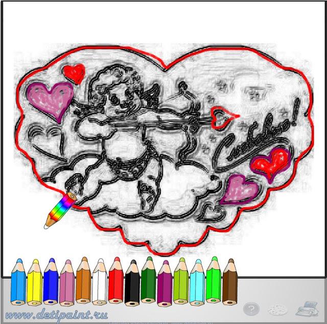 Раскраска детям