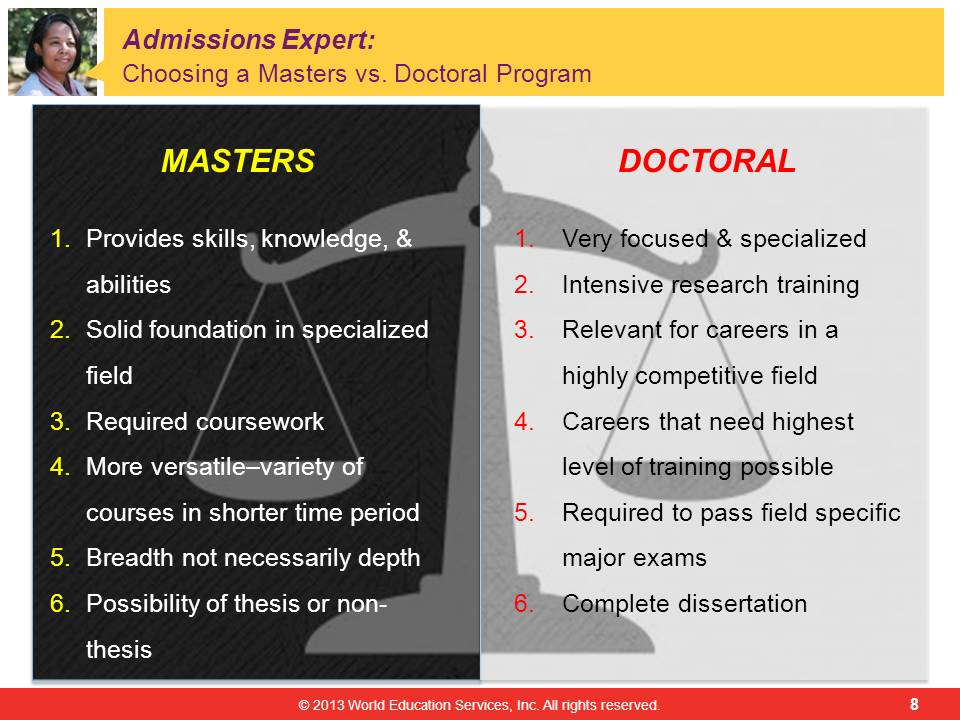 master and phd thesis • phd degree requires a much longer period than master's degree because of dissertation and thesis required • phd is preferred by those who want to adopt a teaching career as a doctoral degree is essential to get teaching jobs in colleges.