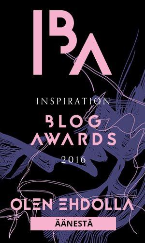 INSPIRATION BLOG AWARDS 2016