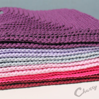 Charry Crochet Dishcloths Colors