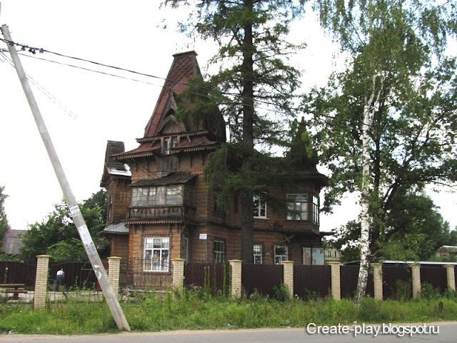 деревянный дом Мариенбург