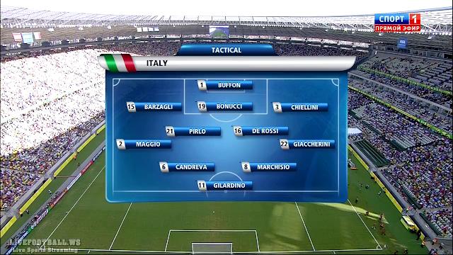 Copa Confederaciones Semifinal - Italy vs Spain