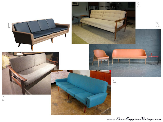 vintage scandinavian design sofa Mayor cheaper ebay