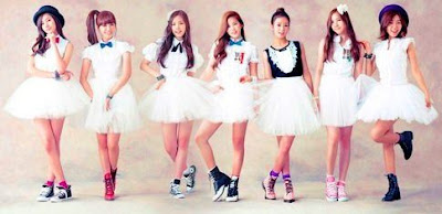 A Pink My My members Snow Pink