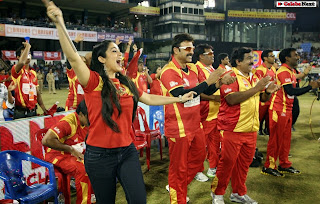 CCL 4 Telugu Warriors Vs Bhojpuri Dabanggs Match Pictures  0052