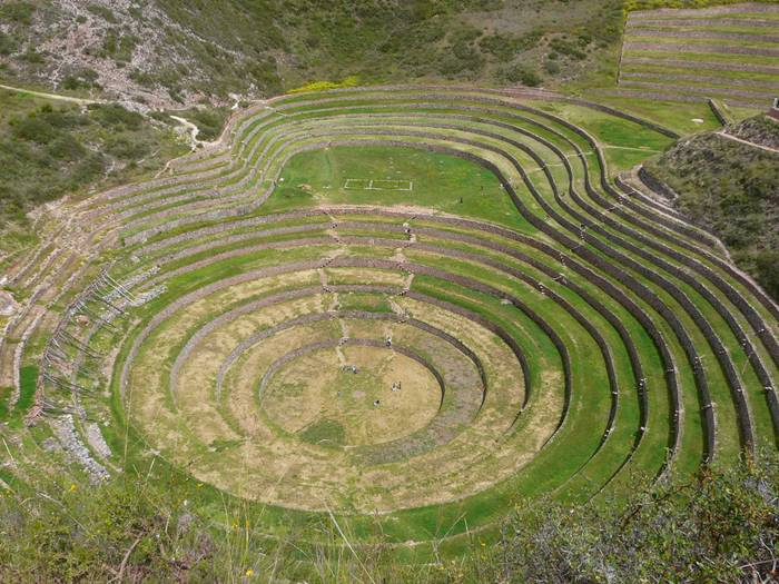 Enigmatic Moray Agricultural Terraces of the Incas