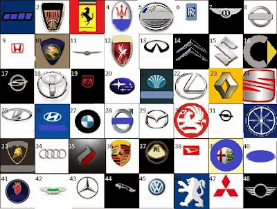 New Cars Juminten Car Logos Quiz