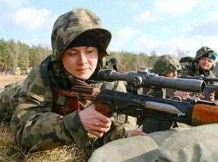 tentara wanita polandia