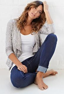 Isabella Oliver Sequin Jacket
