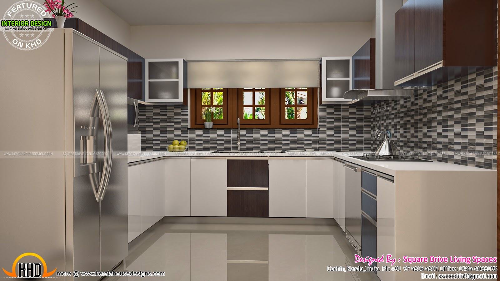 Interior designs of master bedroom living kitchen and for Bedroom designs tamilnadu