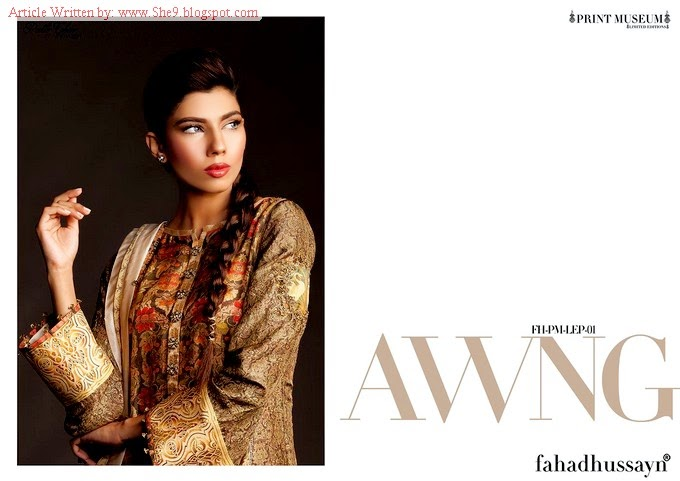 Putlighar Fall / Winter Collection 2014 by Fahad Hussayn