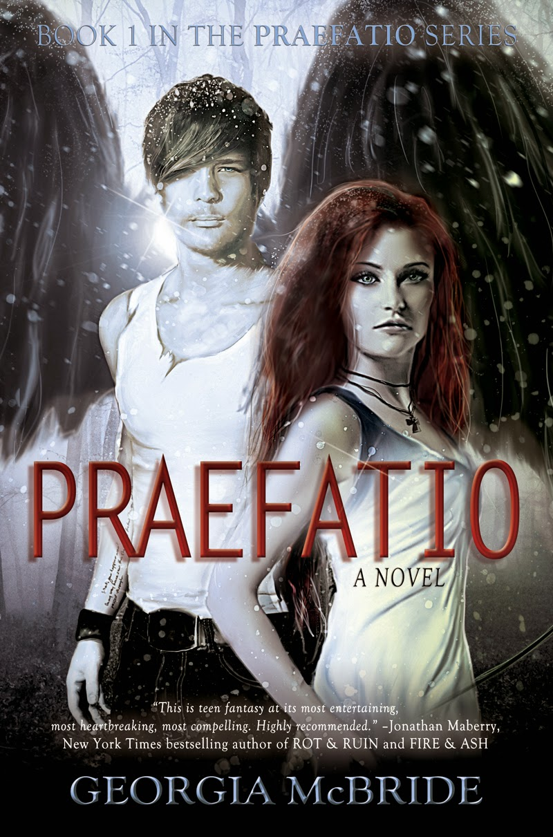 http://www.amazon.com/Praefatio-A-Novel-Georgia-McBride/dp/098825137X/