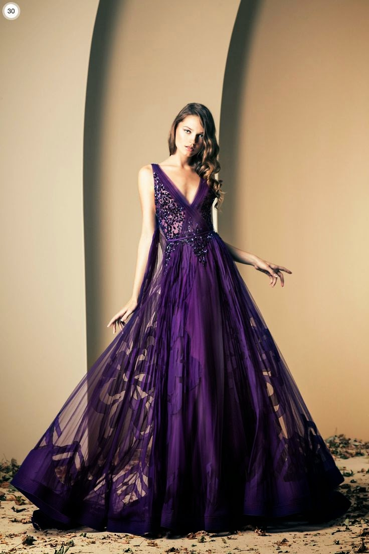 Purple Evening Dresses to Steal the Spotlight