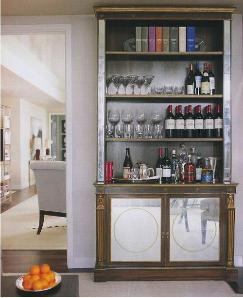 Charme ter um bar em casa thamar freire interiors for Mini bar inside house