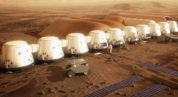 NASA Siapkan Dua Pesawat Untuk Membawa Manusia ke Mars