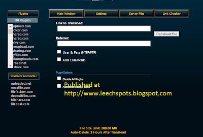 Uploaded.net ,Novafiles.com, Filefactory.com, Depositfiles.com, Bitshare.com, Filepost.com